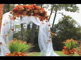 wedding arches decorating ideas fall wedding arch decoration ideas