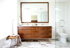 Walnut Bathroom Vanity Walnut Bathroom Vanity Floating Contemporary With Slab Flat Panel