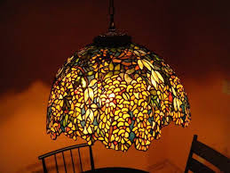 Stained Glass Light Fixtures Dining Room L Stained Glass Hanging Light Fixtures Style Fixture Ls