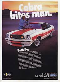 ford mustang ads 1978 ford mustang ii cobra productioncars com ford mustang