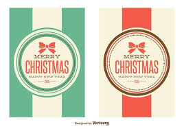 retro christmas cards retro christmas free vector 12187 free downloads