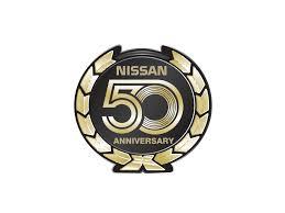 Nissan 50 Year Vector Logo Logowik Com