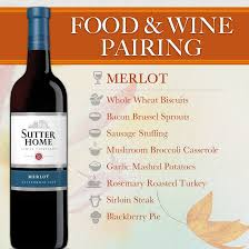 sutter home wine food pairing series thanksgiving sutter