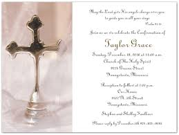confirmation invitations wording for confirmation invitation silver cross confirmation
