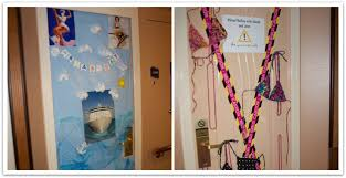 Cruise Decorations 10 Ideas For Decorating Your Cruise Cabin Door Food Fun