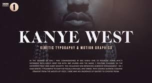 quotes kanye west bbc radio one kanye west kinetic typography on behance