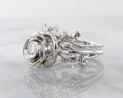 white garland diamond white gold wedding ring set garland wexford jewelers