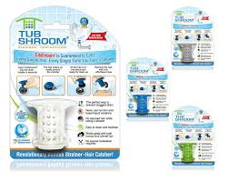 Bathtub Hair Catcher Tub Drain Protector Hair Catcher Strainer Snare 2 Pack