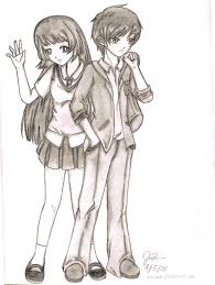 pictures colorful couple sketch wallpaper drawing art gallery