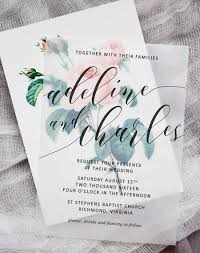 wedding invitations diy diy floral wedding invitations pipkin paper company