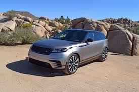 range rover pickup truck first drive 2018 land rover range rover velar review leftlanenews