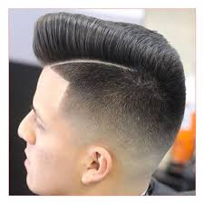 back and sides haircut mens haircut short sides long top slicked back along with short