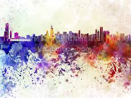 chicago abstract wallpaper wall mural wallsauce usa chicago abstract wall mural photo wallpaper
