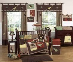 Cheap Baby Boy Crib Bedding Sets Brown Dinosaur Baby Boy Crib Bedding Set 9pc Nursery Collection