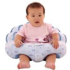 siege pour assis bleu siège bébé assis canapé chaise tout doux confort peluche jouet