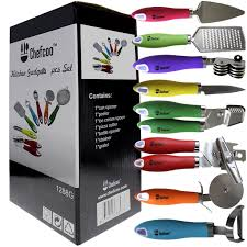 Fun Kitchen Gadgets Amazon Com 8 Pieces Kitchen Gadget Tools Set By Chefcoo