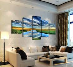 aliexpress com buy 5 panels nature landscape canvas print
