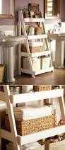 Bathroom Ladder Shelf by 20 Clever Bathroom Storage Ideas Cases Diy Storage Shelves And