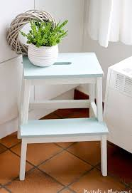 ikea step ikea step stool makeover the difference is amazing hometalk