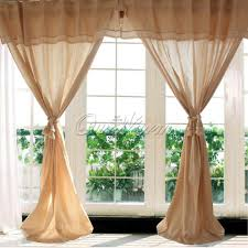 Swag Curtains For Living Room by Vintage Curtains And Drapes Decorate The House With Beautiful