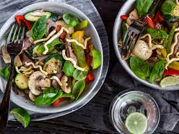 beef noodle salad recipe viva