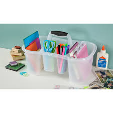 Bathroom Caddy For College by Sterilite Bath Caddy Clear Available In Case Of 6 Or Single Unit