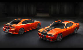 dodge revives go mango orange paint option for srt charger