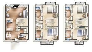 4 bed floor plans uark housing with two u0026 four bedrooms the vue on stadium drive