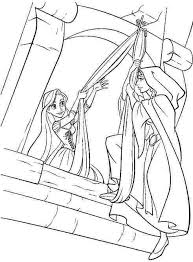 160 disney tangled coloring pages disney images