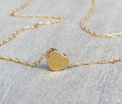 gold love necklace images Impressive design gold love necklace 14k fill heart cursive jpg