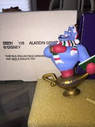 grolier disney set collectible ornament genie princess