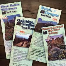 Maps Redmond Central Oregon Adventure Maps Bundle Bend Trails Gear