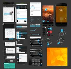 android gui designer free android ui design kit psd nexus 4 gui free psd vector icons