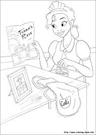 Princess And The Frog Coloring Pages Ngbasic Com Princess And The Frog Colouring Pages