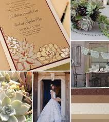 succulent wedding invitations and brown succulent wedding invitation inspirationmomental