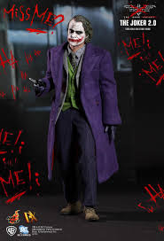 toys the dark knight the joker 2 0 1 6th scale collectible