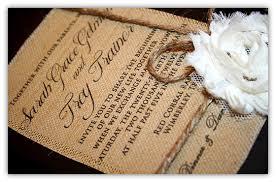 burlap wedding invitations wedding invitations diy burlap yaseen for