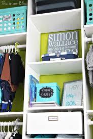Baby Closet System Nursery Closet Makeover Details How To Diy A Closet This Is