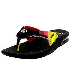 mens reef fanning flip flops sale reef slippers online kopen reef fanning men s athletic sandals red