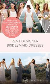 bridesmaid dress rentals 461 best bridesmaid dresses to rent at vow images on