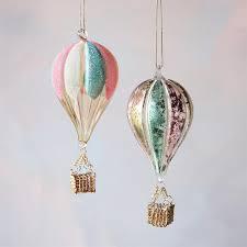 air balloon ornament glitterville shop