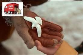 set of 2 turtle dove ornaments as seen in home alone 2 ebay