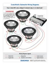 subwoofer wiring one 2 ohm dual voice coil sub in series and l7