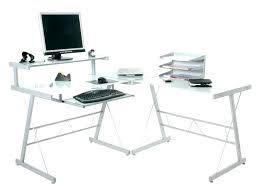 L Shaped Black Glass Desk L Shaped Glass Desk Glass L Shaped Desk Minimalist L Shaped Modern