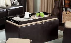 Wicker Storage Ottoman Interesting Figure Coffee Table And Tv Stand Set Fascinating