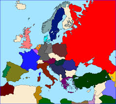 The Map Of Europe by Otl U0027standard U0027 Maps Of Europe Page 3 Alternate History Discussion