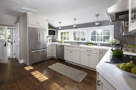 Modern Grey Kitchen Cabinets Grey Kitchen Cabinets To Ceiling With Modern White Newest
