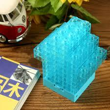 Diy Mini Desk Lamp Educational Light Up Toys Diy Mini Building Blocks Model Toy Led