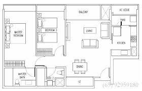 2 bedroom condo floor plans interlace singapore interlace floor plans