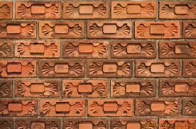 decorative brick wall thetextureclub